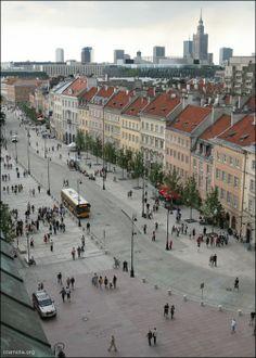 Krakowskie Przedmieście, Warsaw. Visit the slowottawa.ca boards  http://www.pinterest.com/slowottawa/