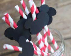 popotes decorados de mickey mouse