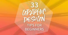 Collection of graphic design tips especially for a beginner designer, that shortcuts learnings that I've picked up over the years through trial and error!