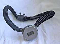 Vintage Aqua Lung Cousteau Gagnan Double Hose Regulator Da Aqua Master