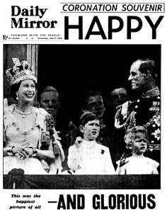 1953: Daily Mirror newspaper headline