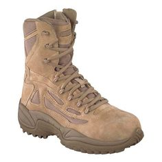 Reebok RB894 Stealth 8' Boot with Side Zipper Composite Toe Women's *** Special boots just for you. See it now! : Desert boots
