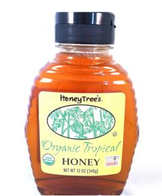 HoneyTree's Raw Organic Wildflower Honey. Product of South America