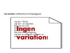Image result for meningsbyggnad variation
