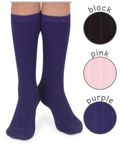 Jefferies Socks Textured Knee High Sock