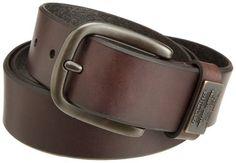 Levi's Men's Bridle Belt With Ornament,Brown,34