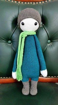 lalylala doll made by Rivka / crochet pattern by lalylala