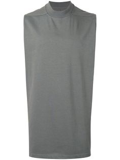RICK OWENS sleeveless T-shirt. #rickowens #cloth #t-shirt