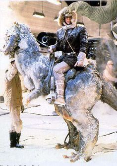 Harrison Ford on a Taun-Taun