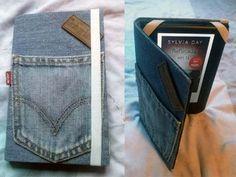 manualidades para regalar - funda vaquera ebook ipad - reciclar jeans