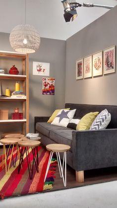 Unimate en Grandes ideas - Espacios chicos (Parte 2). Mirá un nuevo backstage del programa de decoración de FOX Life, con #muebles de #Unimate en sus ambientaciones. Conocé todos nuestros productos en www.unimate.com.ar
