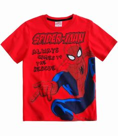 Marvel Spiderman T Shirt Boys 100/% Cotton Tee Top Ages 18 Months To 8 Years