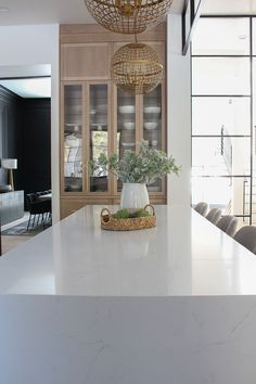 The island with seating is x 10 ft and seats 10 people comfortably. The prep island is x 10 ft. Color is Paragon by Aurea Stone. Beach Cottage Kitchens, Modern Farmhouse Kitchens, Rustic Kitchen, Custom Kitchens, Farmhouse Table, Home Decor Kitchen, New Kitchen, Kitchen Ideas, 10x10 Kitchen