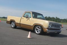 A very nice and very clean #Dodge pickup at #HRPT 2012 at Milford Proving Ground
