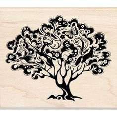 Cool tree tattoo design idea