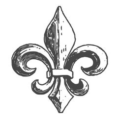 I want to get a small Fleur De Lis tattoo with little four leaf clovers next to it to represent my ancestry! Piercing Tattoo, I Tattoo, Cool Tattoos, Fluer De Lis Tattoo, Golondrinas Tattoo, Scouts, Tattoo Bracelet, Stamp, Tattoo Inspiration