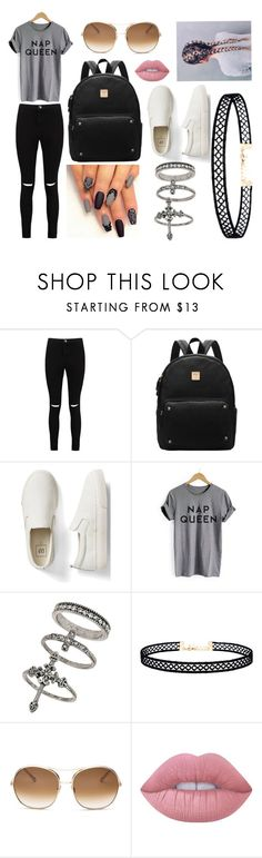 """My Style"" by sophierodd101 on Polyvore featuring Boohoo, Gap, Miss Selfridge, LULUS, Chloé and Lime Crime"