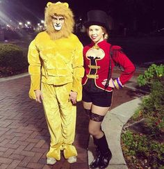 Lion and Lion Tamer Couple Halloween Costume