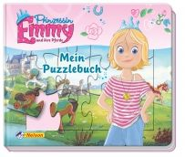 Prinzessin Emmy: Mein Puzzlebuch. Prinzessin Emmy lässt die Mädchenherzen höher schlagen: Mit Emmy und ihren 26 Pferden ist immer was los! Dieses tolle Buch enthält fünf farbenfrohe, zwölfteilige Puzzles und macht Lust darauf, die Welt der abenteuerlustigen Prinzessin zu entdecken.