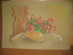 Róże - pastel Helena