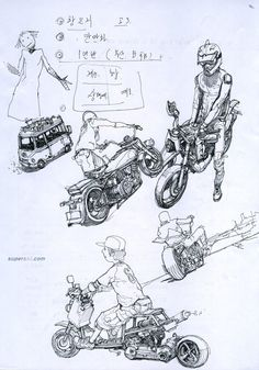 Kim Jung Gi  ★ || CHARACTER DESIGN REFERENCES (https://www.facebook.com/CharacterDesignReferences & https://www.pinterest.com/characterdesigh) • Love Character Design? Join the Character Design Challenge (link→ https://www.facebook.com/groups/CharacterDesignChallenge) Share your unique vision of a theme, promote your art in a community of over 25.000 artists! || ★