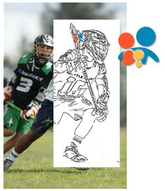 Lacrosse coloring page | Free Printable Coloring Pages | 272x236