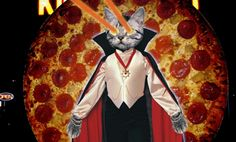 Sometimes you just need to express yourself with vampire cats shooting lasers out of their eyes and spinning pepperoni pizzas.