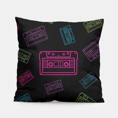 Neon cassettes Poduszka by BEATRIX 14.95€