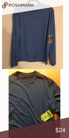 NWT REI Men's Sahara Tee Brand new with tags men's Sahara LS Tee atmosphere size M. Moisture wicking. Quick drying. UPF 50+ sun protection REI Shirts Tees - Long Sleeve