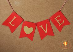 Bandeirola Love - Dia dos namorados