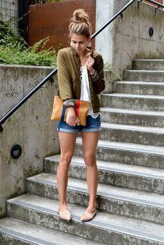 satin bomber jacket | fishbowl fashion