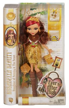 Start a new chapter with Ever After High, where the teenage sons and daughters of famous fairytales decide whether or not to follow in their parents' fabled footsteps. Rosa Bella Beauty has chosen to