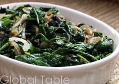 spinach palong shaak bhaji