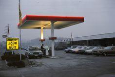 20aliens: BELGIUM. Hainaut region. Gas station. 1981Harry Gruyaert