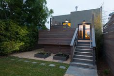 modern exterior by baranstudio : architecture (you should have seen it before the renovation!)