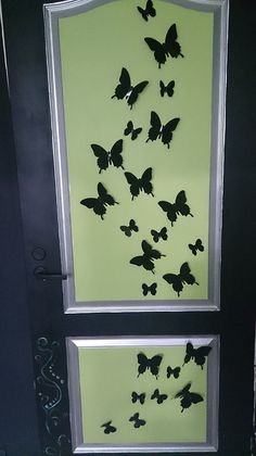 3D butterfly-stickers. Turn your room into garden!