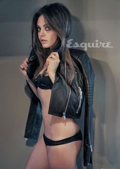 Mila Kunis Is Esquire's Sexiest Woman Alive. So obsessed.