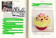 Cupcake Alice no País das Maravilhas (A hora do Chá). Beijos Açucarados