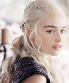 ♕ Daenerys Stormborn of House Targaryen, the Unburnt, Mother of Dragons, khaleesi to Drogo's riders, and queen of the Seven Kingdoms of Westeros.
