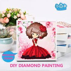 Crystal Diamond Sticker For Decoration 26cm*29cm