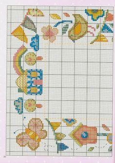 Cross-stitch Springtime, part 7... color chart on part 2...    032013 - galbut - Álbumes web de Picasa