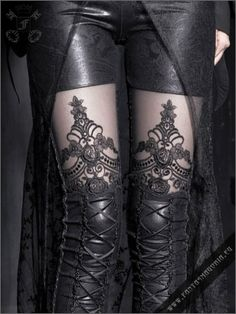 Macbeth leggings - for a little bit of fun...