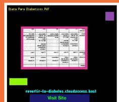 Dieta Para Diabeticos Pdf 190452 - Aprenda como vencer la diabetes y recuperar su salud.