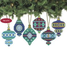 Christmas Jewels - Cross Stitch, Needlepoint, Embroidery Kits – Tools and Supplies