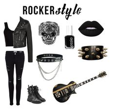 """""""Rocker Chic"""" by lovepeacelove-723 ❤ liked on Polyvore featuring Calvin Klein Collection, Frame Denim, Yves Saint Laurent, Giuseppe Zanotti, BLVD Supply, Lime Crime, Essie, West Coast Jewelry, rockerchic and rockerstyle"""