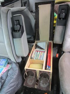 Excellent Home-Made Vanagon Console