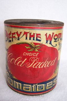 1920 tomato tin by callie