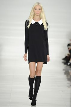 Ralph Lauren RTW Spring 2014   like a grown up Wednesday Adams or Coven style witch haha