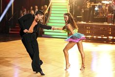 Audience favorites Val Chmerkovskiy and Karina Smirnoff, chosen to dance together on Twitter