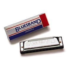 Musical Instruments: Woodstock Blues Band Harmonica